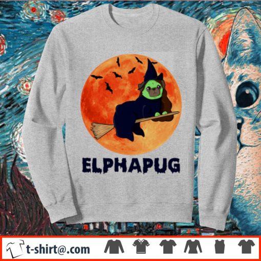 Pug Elphapug Halloween s sweater