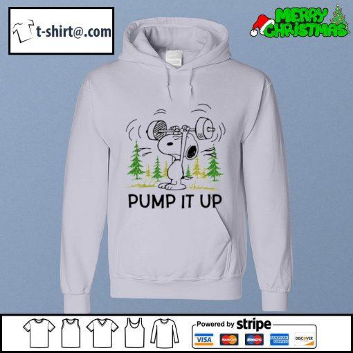 Snoopy pump it up s hoodie