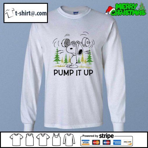 Snoopy pump it up s longsleeve-tee