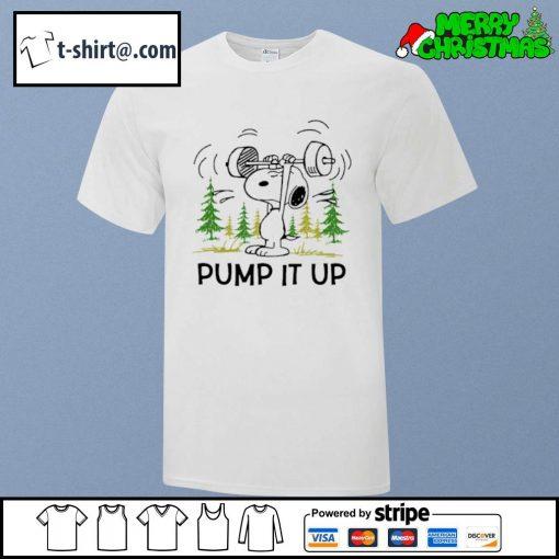 Snoopy pump it up shirt