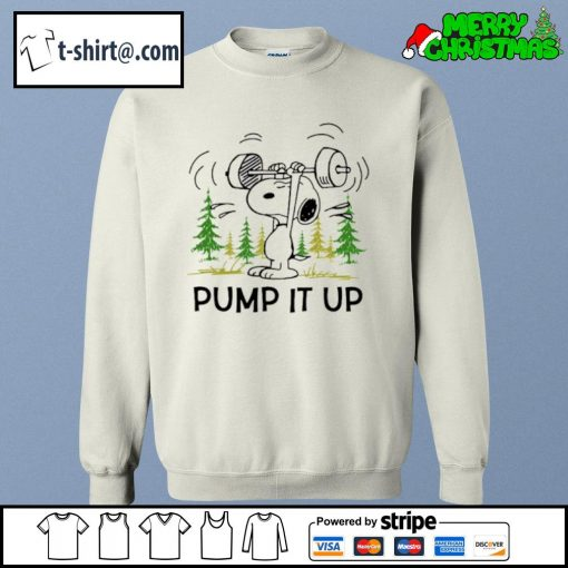 Snoopy pump it up s sweater