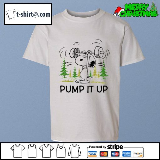 Snoopy pump it up s youth-tee