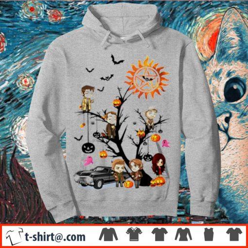 Supernatural tree Halloween pumpkin s hoodie