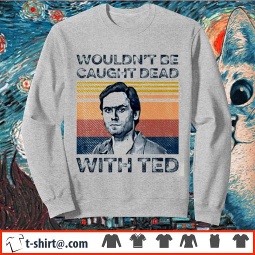 Ted Bundy wouldn't be caught dead with red vintage s sweater