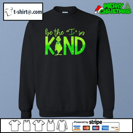 The Grinch be the I in kind s sweater