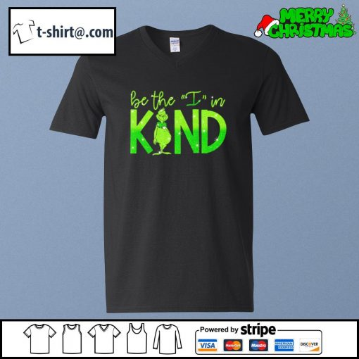 The Grinch be the I in kind s v-neck-t-shirt