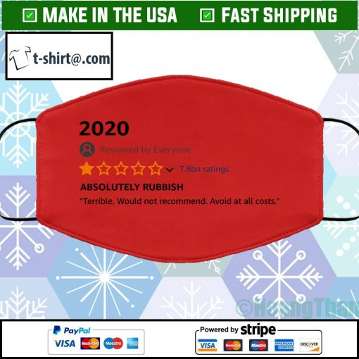 2020 1-star review facemask red