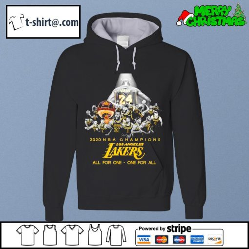 2020 NBA champions Los Angeles Lakers all for one one for all s hoodie