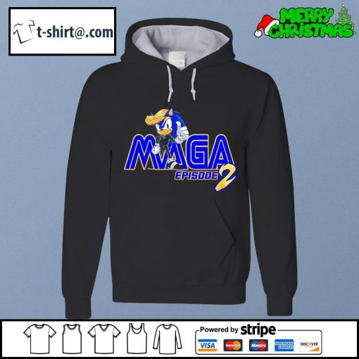 Donald Trump Sonic Maga episode 2 s hoodie