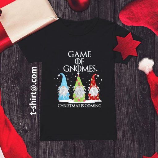 Game of Gnomes Christmas is coming shirt, sweater ladies-tee