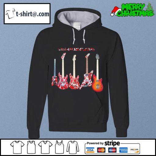 Van Halen guitars s hoodie