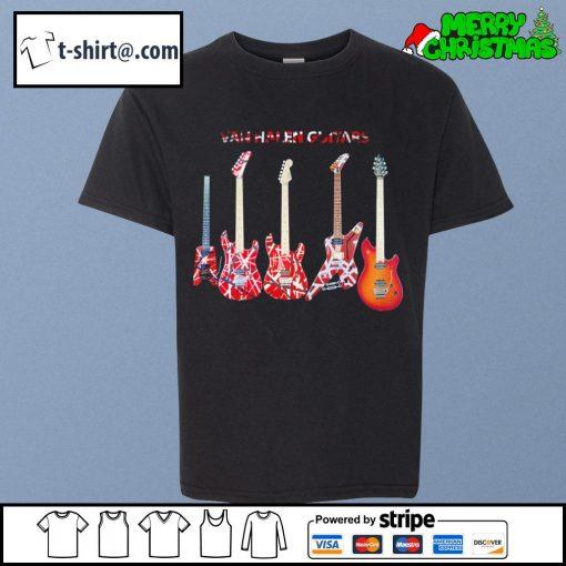 Van Halen guitars s youth-tee