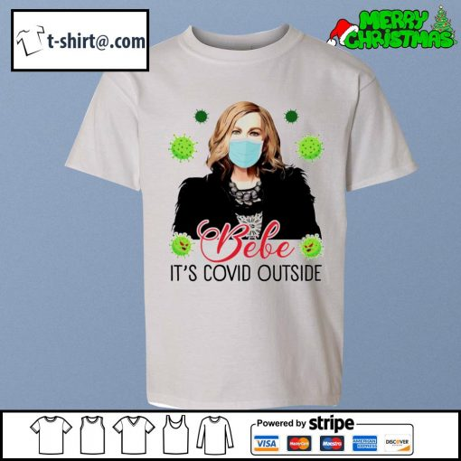 Bebe it's Covid outside s youth-tee