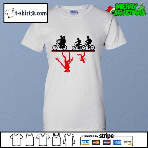 Cycle The Upside Down Stranger Things s ladies-tee