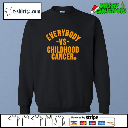 Everybody vs childhood cancer s sweater