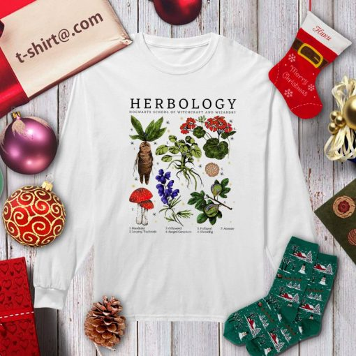 Herbology Hogwarts school of witchcraft and wizardry shirt, sweater longsleeve-tee