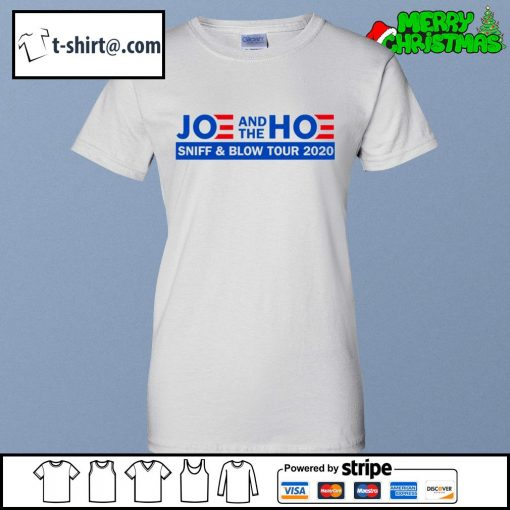Joe and the Hoe sniff and blow tour 2020 s ladies-tee