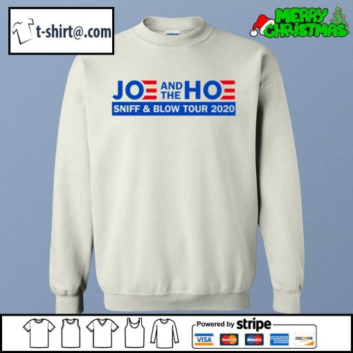 Joe and the Hoe sniff and blow tour 2020 s sweater