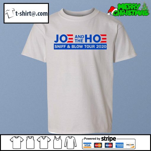 Joe and the Hoe sniff and blow tour 2020 s youth-tee