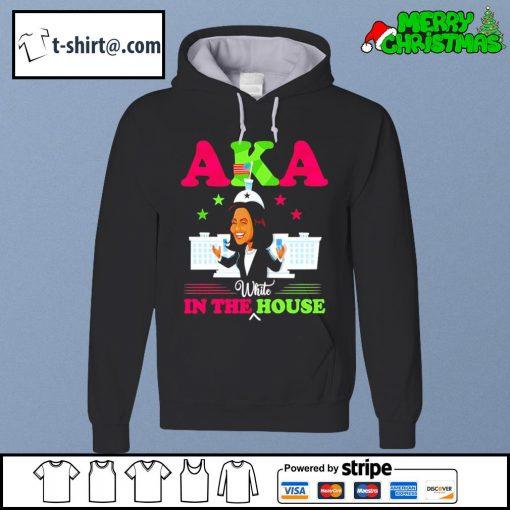 Kamala Harris Aka white in the house s hoodie