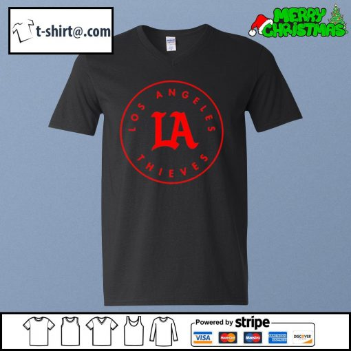 Los Angeles Thieves s v-neck-t-shirt