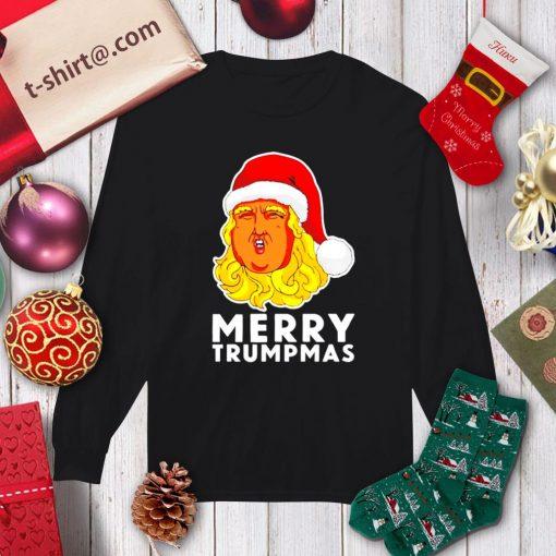 Merry Trumpmas Christmas shirt, sweater longsleeve-tee
