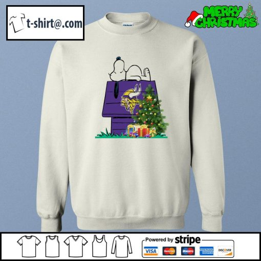 Minnesota Vikings Snoopy NFL Ornament, t-shirt and hoodie sweater