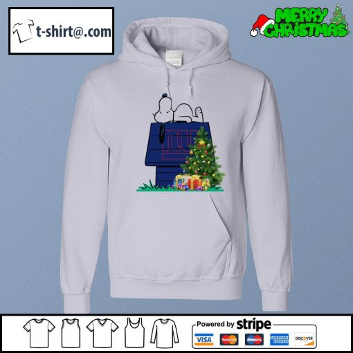 New York Giants Snoopy NFL Ornament, t-shirt and hoodie hoodie