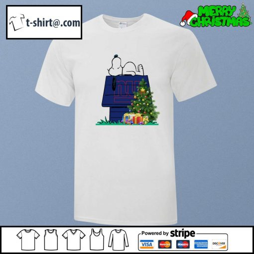 New York Giants Snoopy NFL Ornament, t-shirt and hoodie shirt