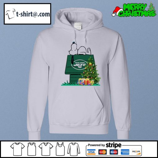 New York Jets Snoopy NFL Ornament, t-shirt and hoodie hoodie