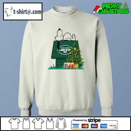 New York Jets Snoopy NFL Ornament, t-shirt and hoodie sweater