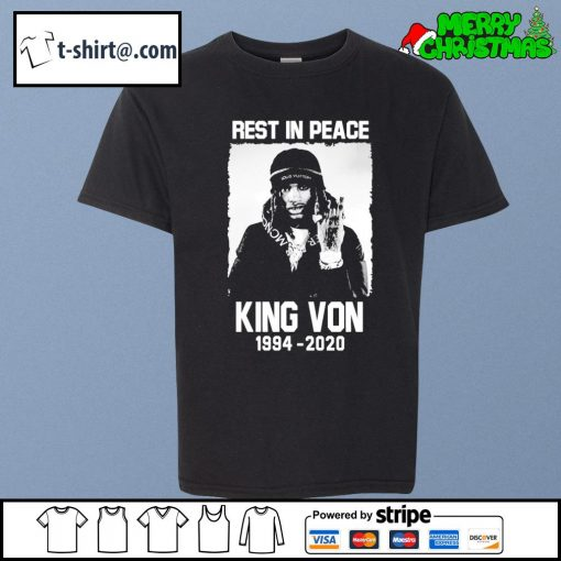 Rest in peace King Von 1994-2020 s youth-tee