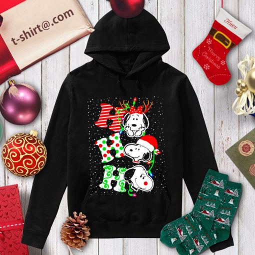 Snoopy Ho Ho Ho Christmas shirt, sweater hoodie