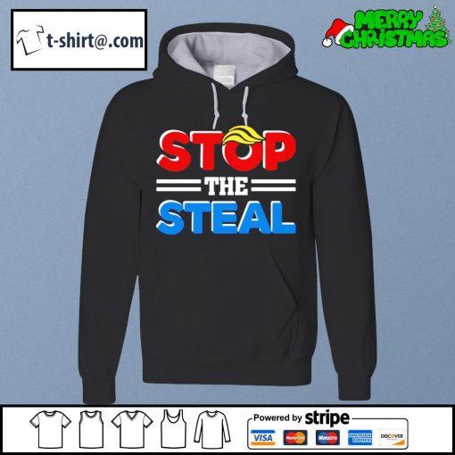 Stop the steal Trump Anti Biden Fraud s hoodie
