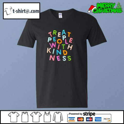 Treat people with kindness s v-neck-t-shirt