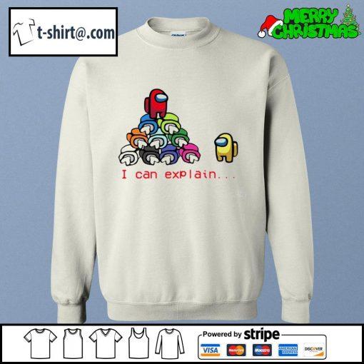 Among Us Impostor I can explain s sweater