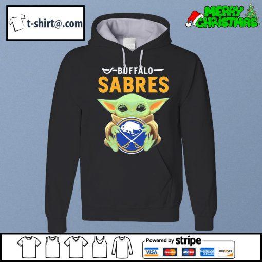 Baby Yoda Hug Buffalo Sabres s hoodie