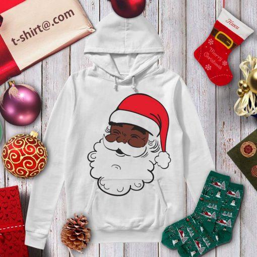 Black Santa Claus Christmas shirt, sweater hoodie