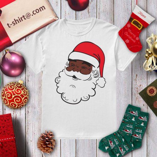 Black Santa Claus Christmas shirt, sweater