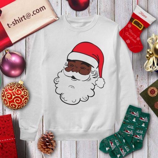 Black Santa Claus Christmas shirt, sweater sweater