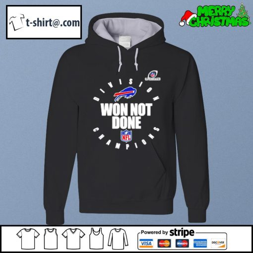 Buffalo Bills AFC east champions 2020 won not done s hoodie