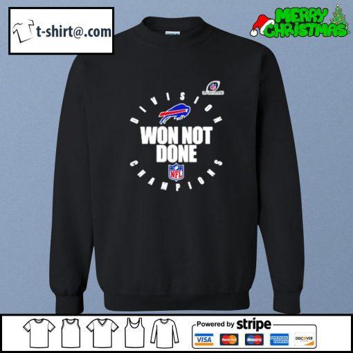 Buffalo Bills AFC east champions 2020 won not done s sweater