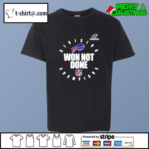 Buffalo Bills AFC east champions 2020 won not done s youth-tee