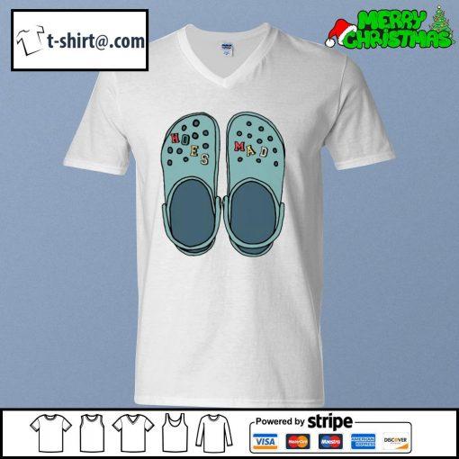 Crocs hoes mad s v-neck-t-shirt