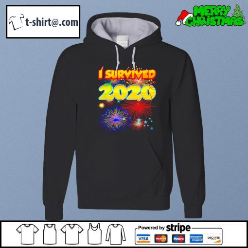 I survived 2020 New Years s hoodie