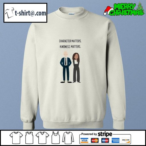 Joe and Kamala character matters kindness matters s sweater