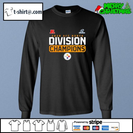 NFL Playoffs 2020 NFC North Division Champions Pittsburgh Steelers s longsleeve-tee