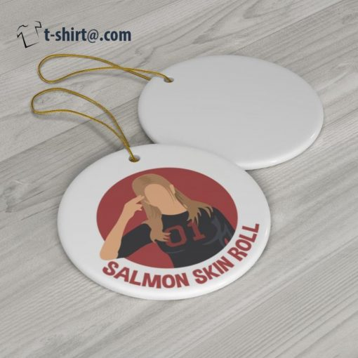 Salmon Skin Roll ornament