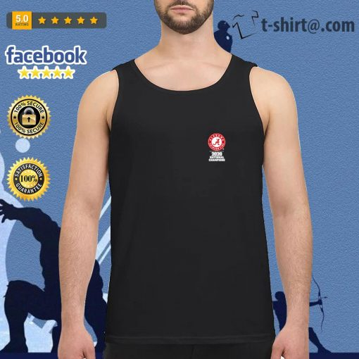 Alabama Crimson Tide 18x National Champions 2020 s tank-top
