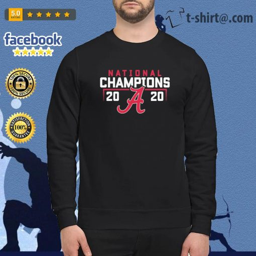 Alabama Crimson Tide 2020 National Champions College Football Playoff s sweater